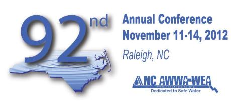 North Carolina AWWA 2012